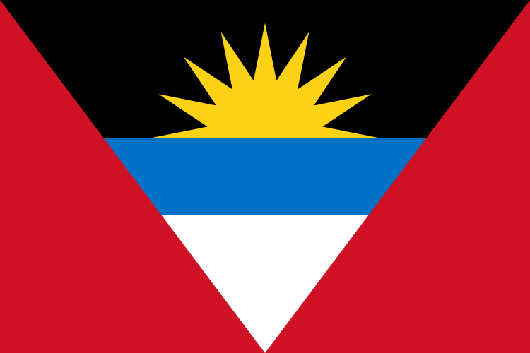 la bandera de Antigua y Barbuda en gran resolucion