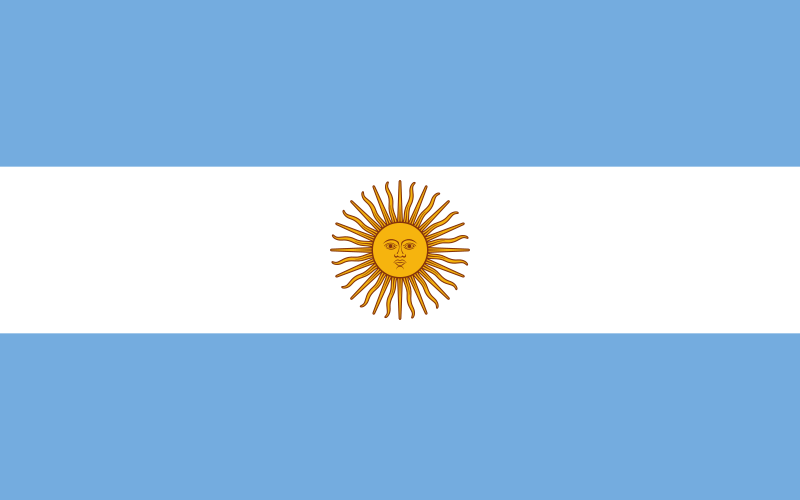 the flag of Argentina high resolution