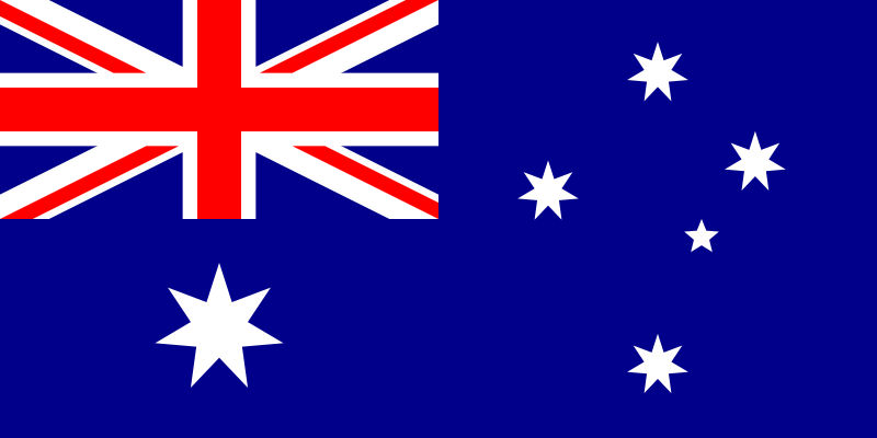the flag of Australia high resolution