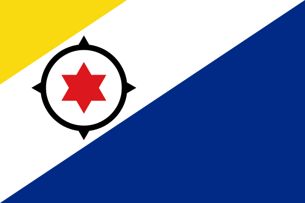 the flag of Bonaire high resolution