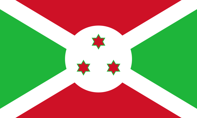 the flag of Burundi high resolution