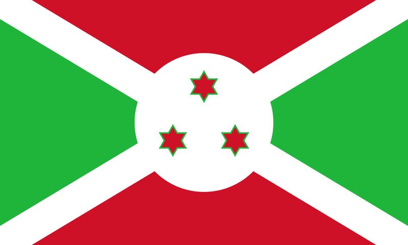 drapeau de Burundi haute résolution