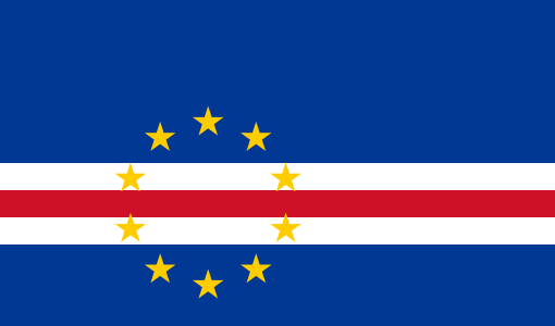 the flag of Cape Verde high resolution