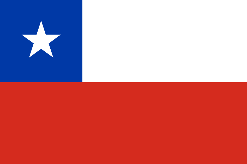 la bandera de Chile en gran resolucion