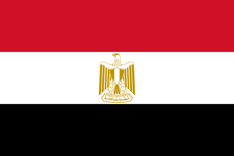 the flag of Egypt high resolution