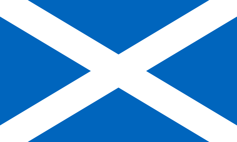 the flag of Scotland high resolution