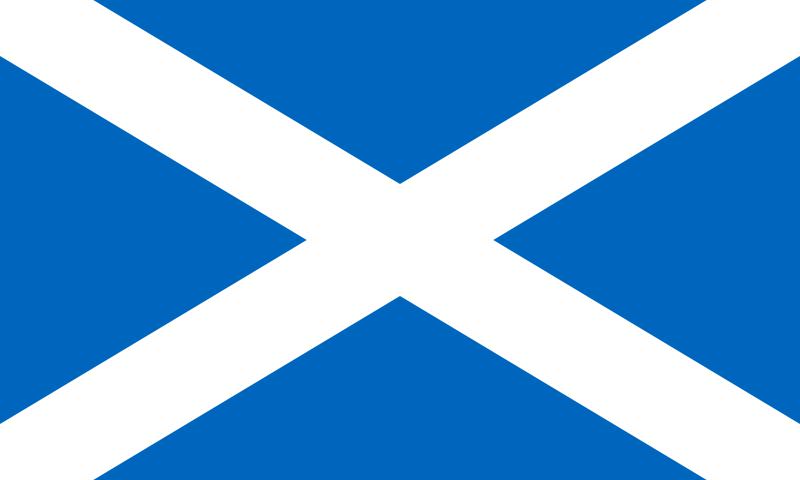 the flag of Scotland high resolution