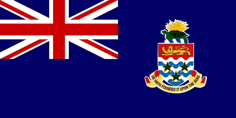 the flag of Cayman Islands high resolution