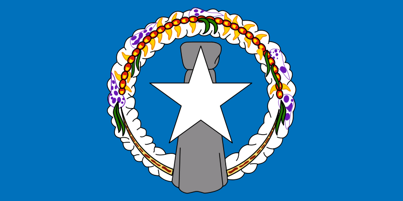 the flag of Northern Mariana Islands high resolution