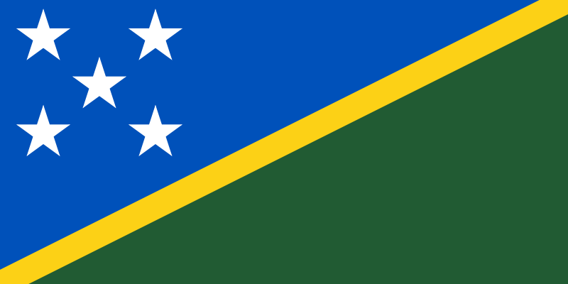 the flag of Solomon Islands high resolution