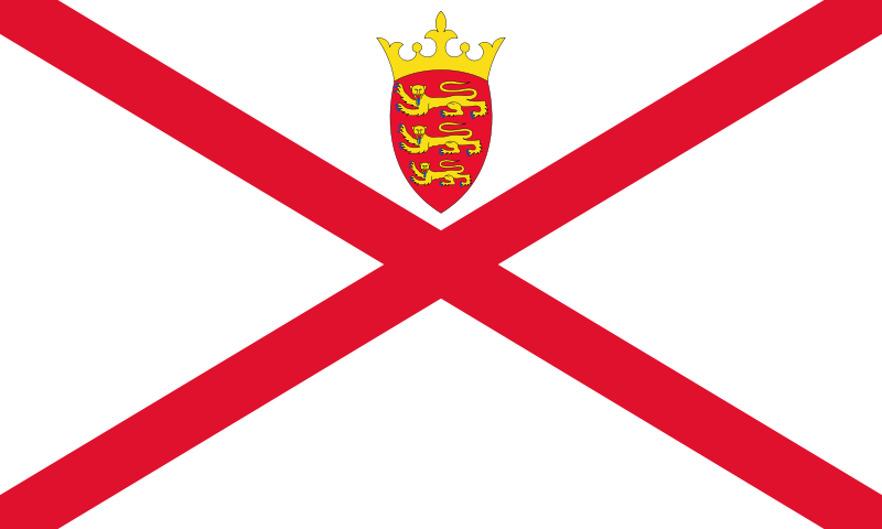 the flag of Jersey high resolution