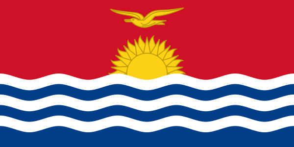 the flag of Kiribati high resolution