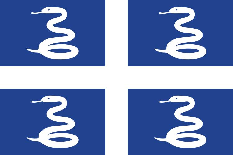 drapeau de Martinique haute résolution