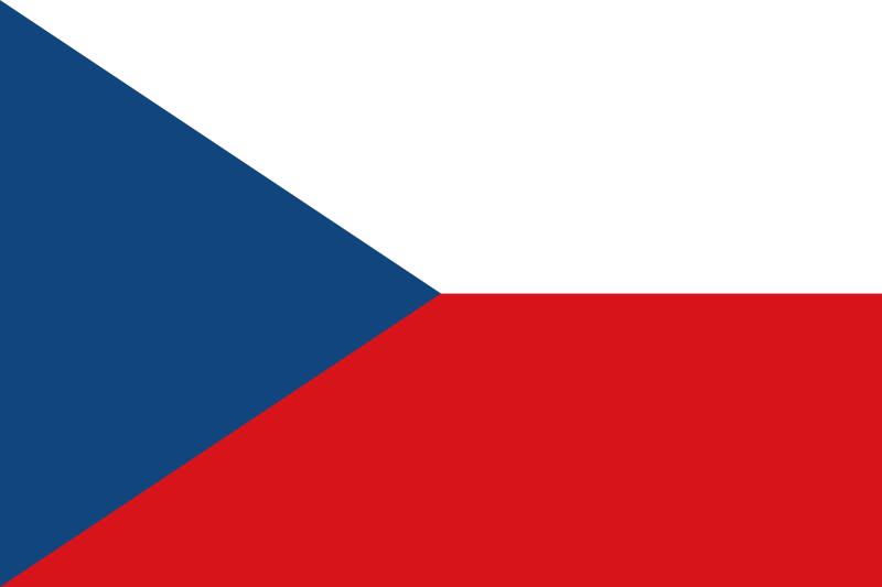 the flag of Czech Republic high resolution