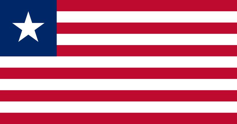 bandeira Libéria em alta resolução