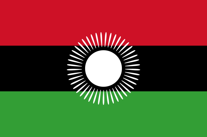 the flag of Malawi high resolution