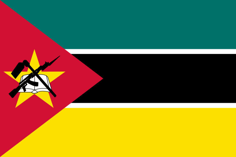 the flag of Mozambique high resolution