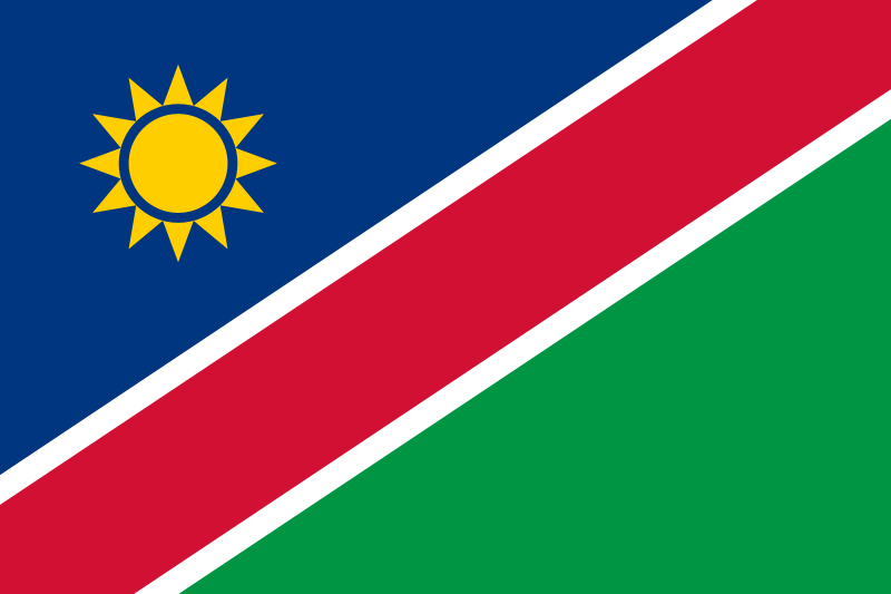 the flag of Namibia high resolution