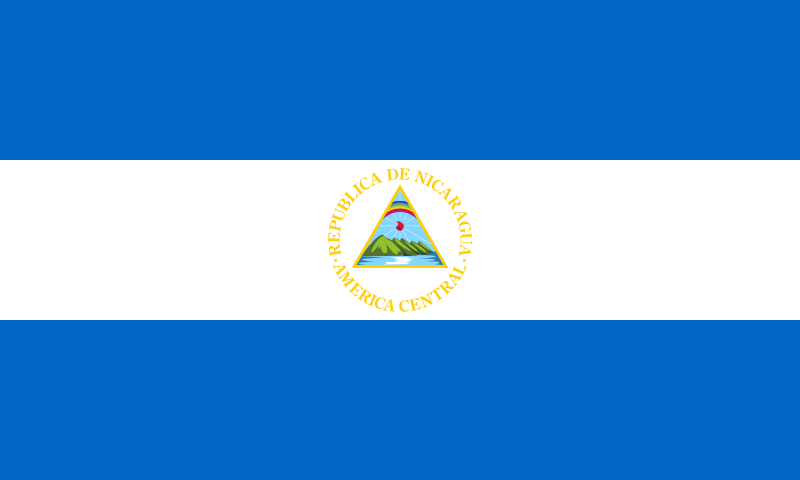 la bandera de Nicaragua en gran resolucion
