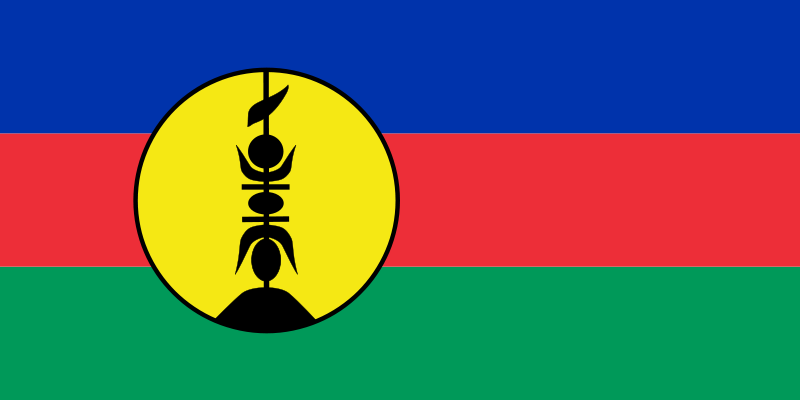 the flag of New Caledonia high resolution