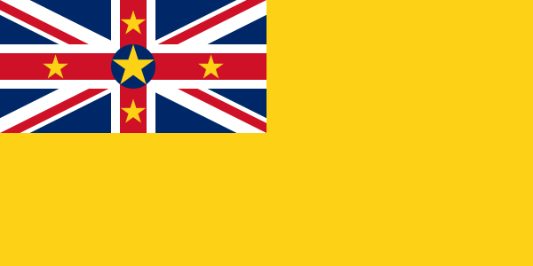 the flag of Niue high resolution