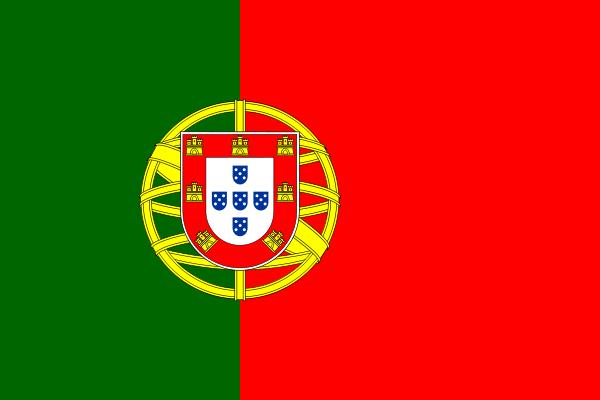 la bandera de Portugal en gran resolucion