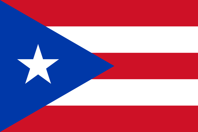 the flag of Puerto Rico high resolution