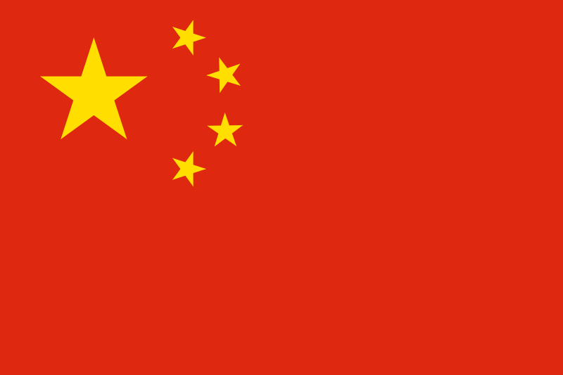 the flag of People's Republic of China high resolution