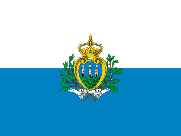 the flag of San Marino high resolution