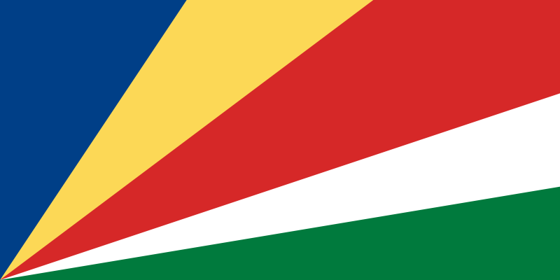 the flag of Seychelles high resolution
