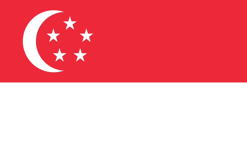 the flag of Singapore high resolution