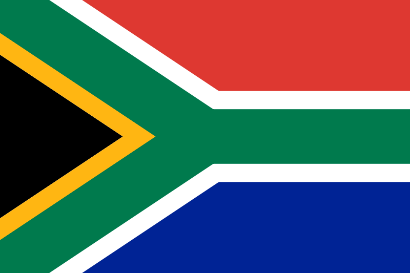 the flag of South Africa high resolution