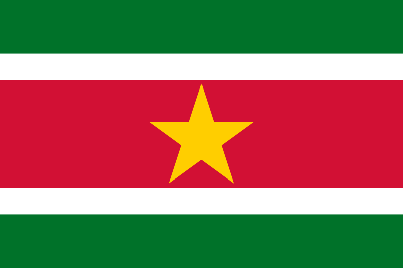 the flag of Suriname high resolution