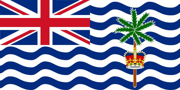 the flag of British Indian Ocean Territory high resolution