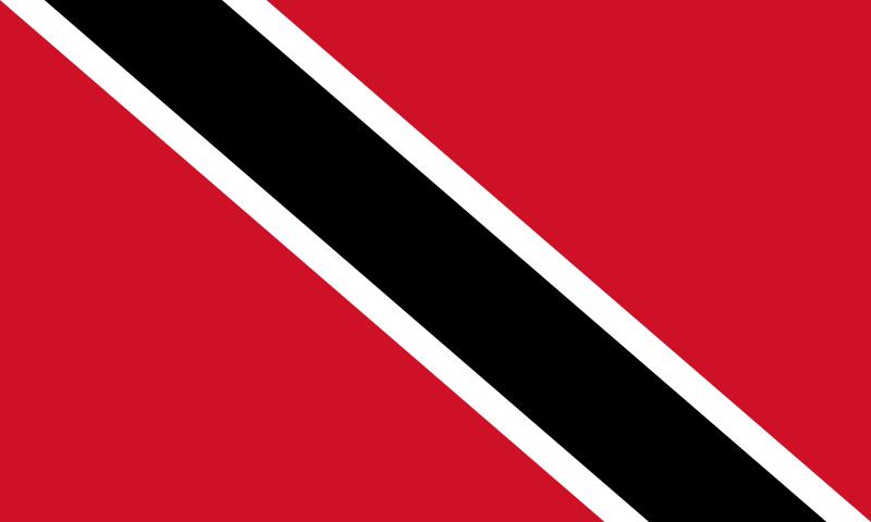 drapeau de Trinité-et-Tobago haute résolution