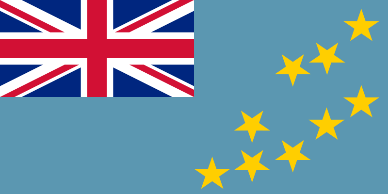 the flag of Tuvalu high resolution