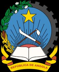 el escudo de Angola en gran resolucion