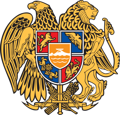 coat of arms of Armenia high resolution