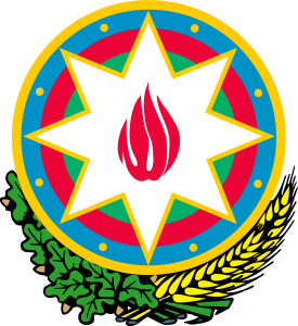 coat of arms of Azerbaijan high resolution