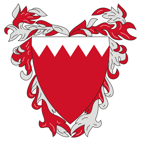 coat of arms of Baréin high resolution