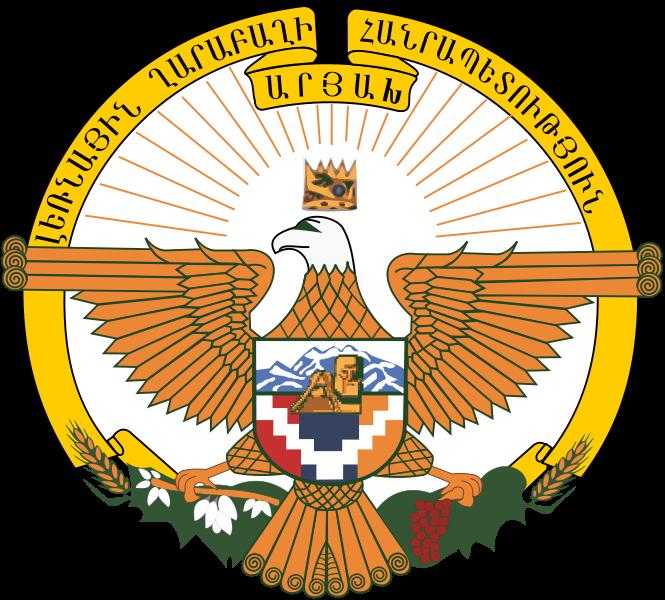 el escudo de Alto Karabaj (A) en gran resolucion