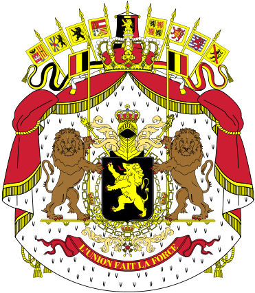 coat of arms of Belgium high resolution