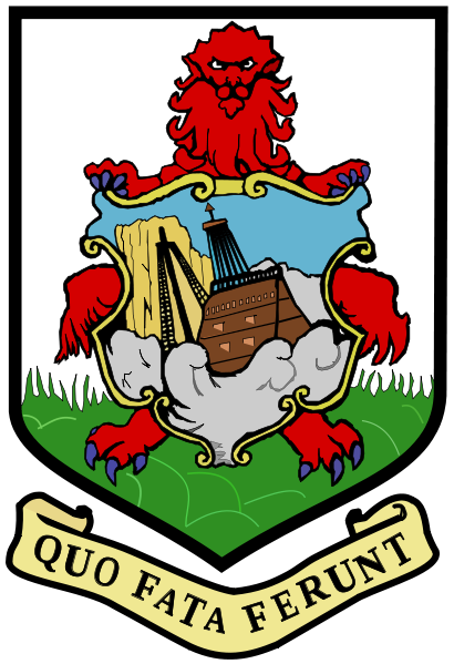 coat of arms of Bermuda high resolution