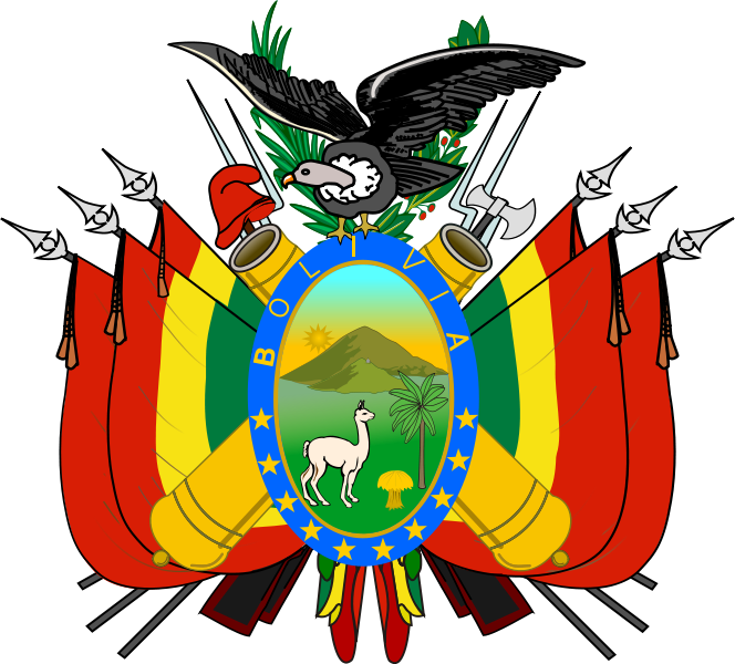 coat of arms of Bolivia high resolution