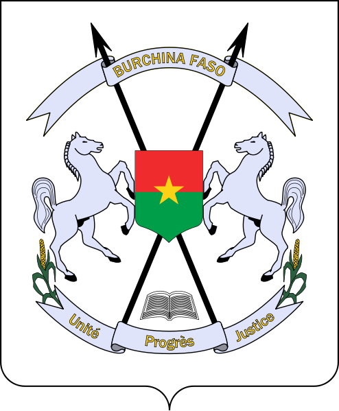 coat of arms of Burkina Faso high resolution