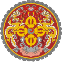 coat of arms of Bhutan high resolution