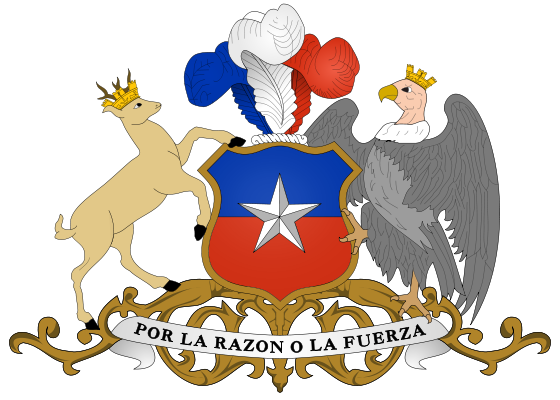 coat of arms of Chile high resolution