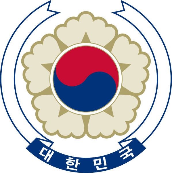 coat of arms of South Korea high resolution