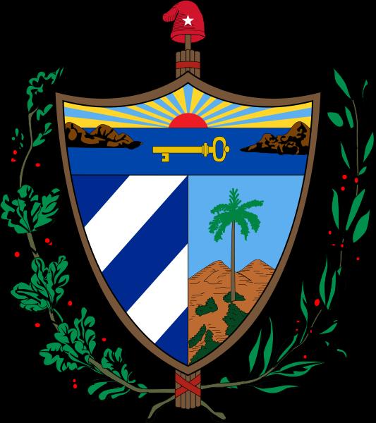 Wappen des Kuba hohe Auflösung