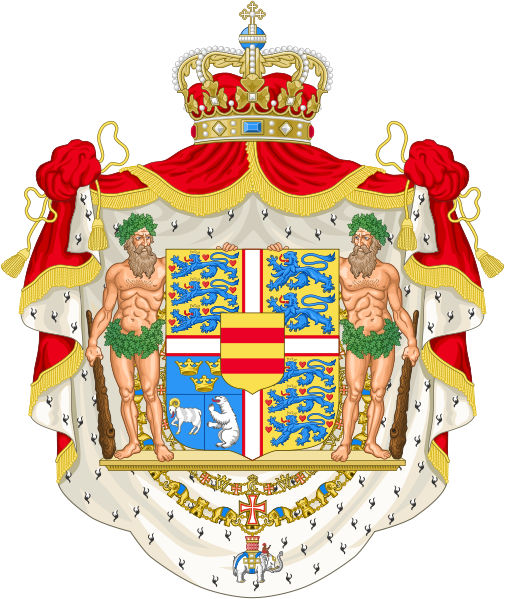 coat of arms of Denmark high resolution